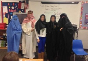 No this is not the middle east, it is a school in Texas.